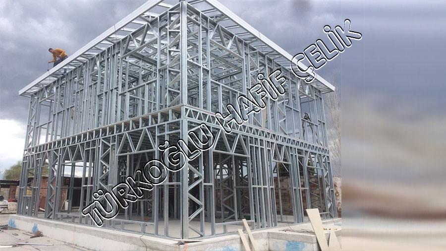 Tuba Prefabrik Hafif Çelik Ev