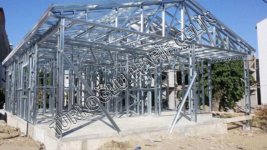 Tek Katlı Hafif Çelik Ev