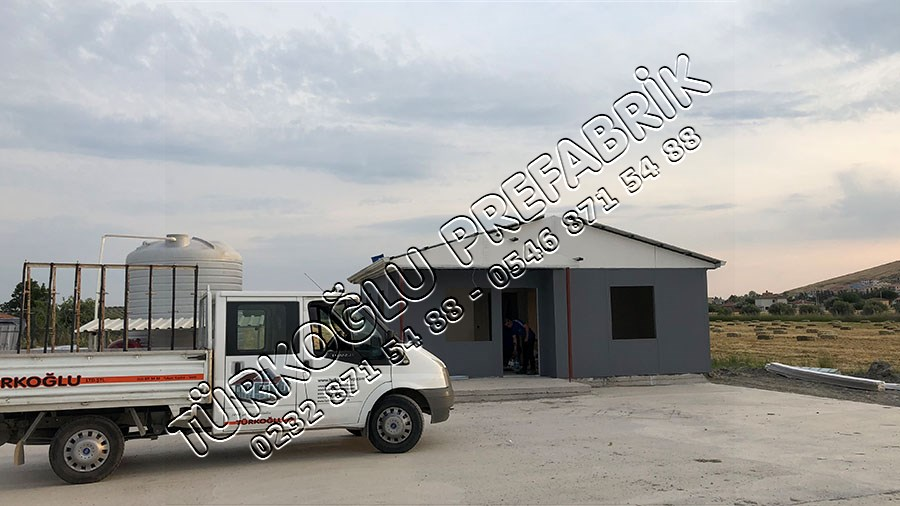 3E Hayvancılık Prefabrik Ofis