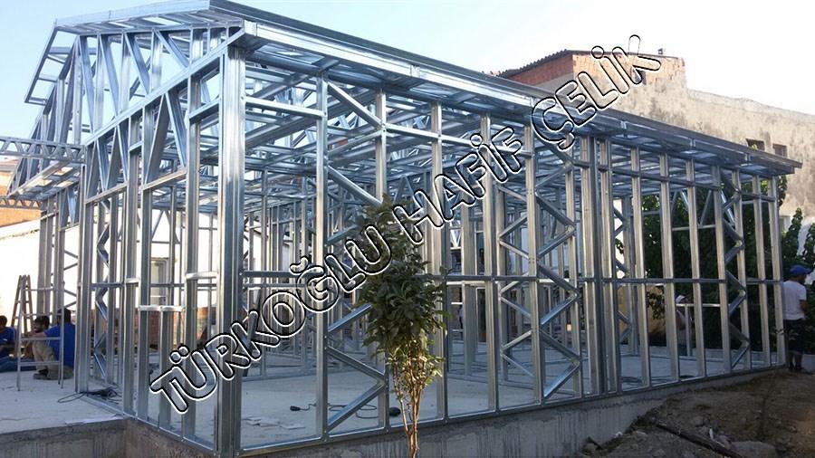 Ata Prefabrik Tek Katlı Çelik Ev