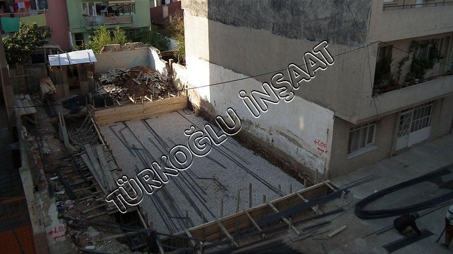 Buca Betonarme Bina İnşaatı