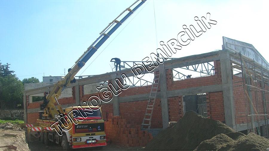 Çeşme Belediyesi Ekmek Fabrikası Çelik Çatı
