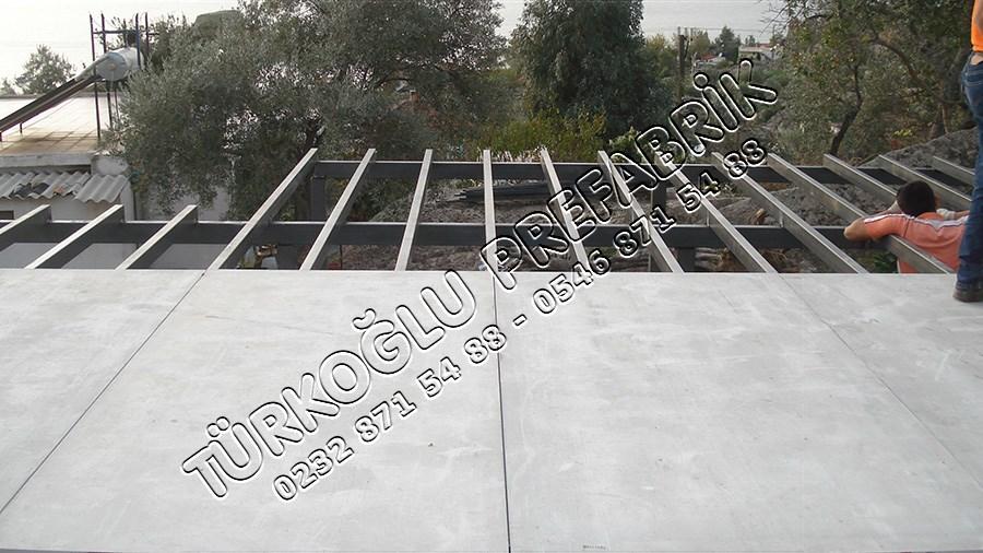 Prefabrik çatı yapımı