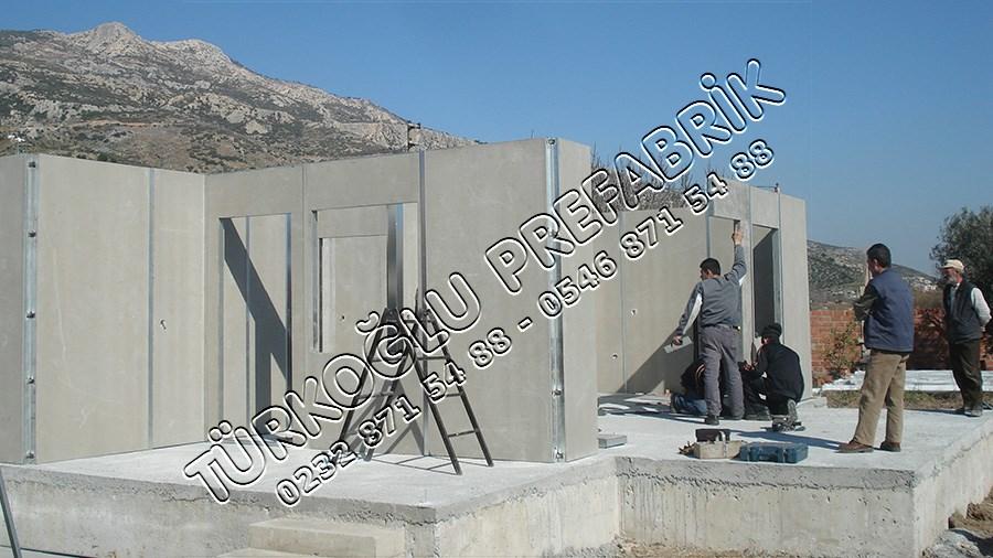 Prefabrik Duvar Montajı