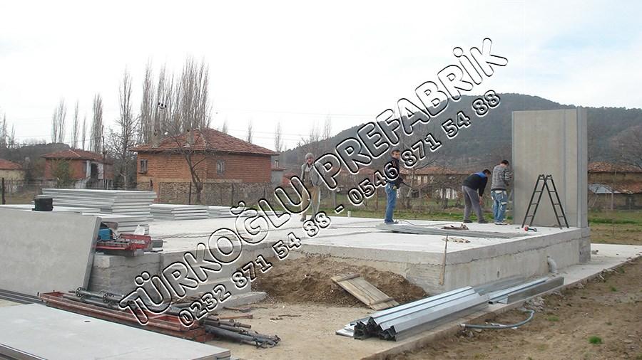 Prefabrik ev izmir Montaj Aşaması