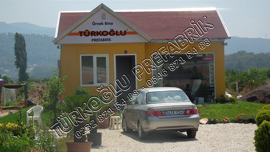 Muğla Prefabrik ofis