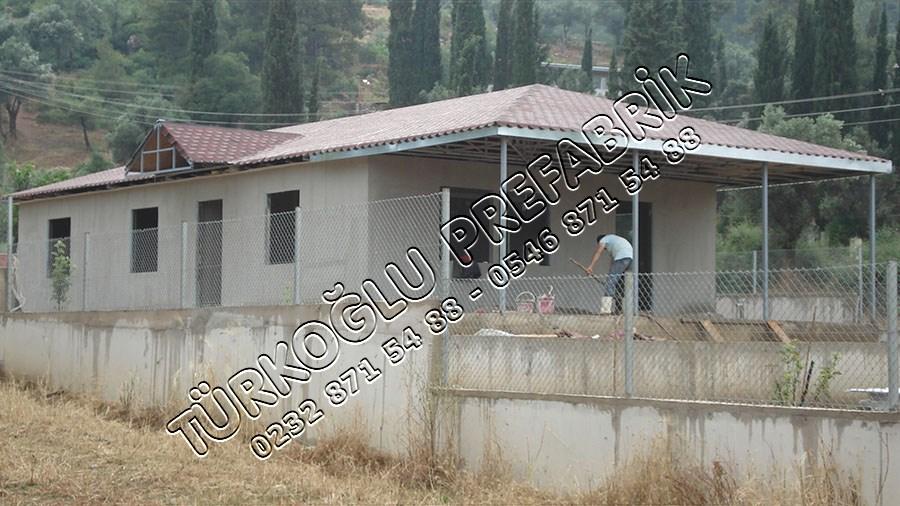 Prefabrik Bahçeli Ev