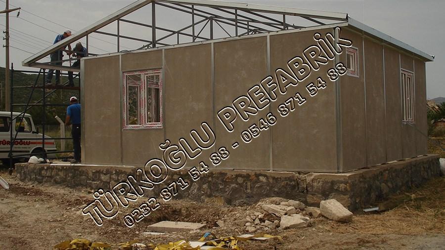 İzmir Prefabrik Ev Yaşar YILMAZ