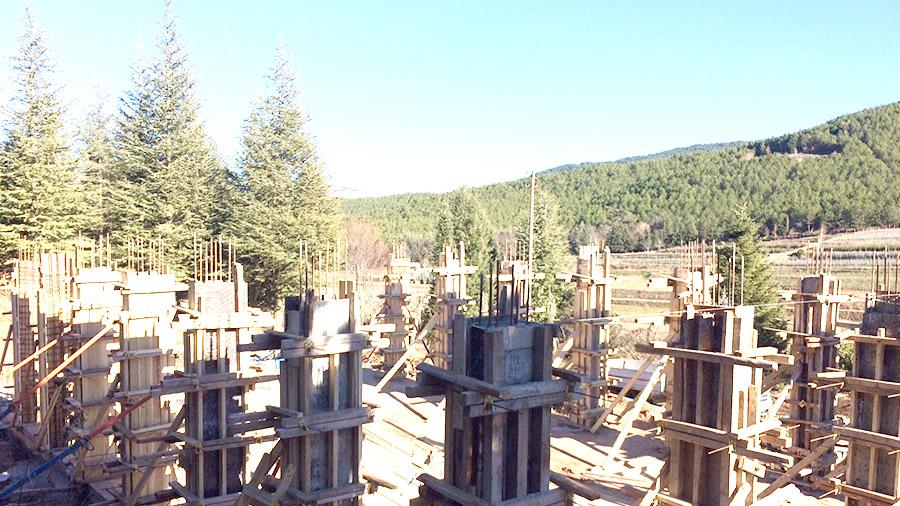 Manisa Orman Fidanlık Müdürlüğü Yeni Köy Fidanlığı Depo Binası inşaat