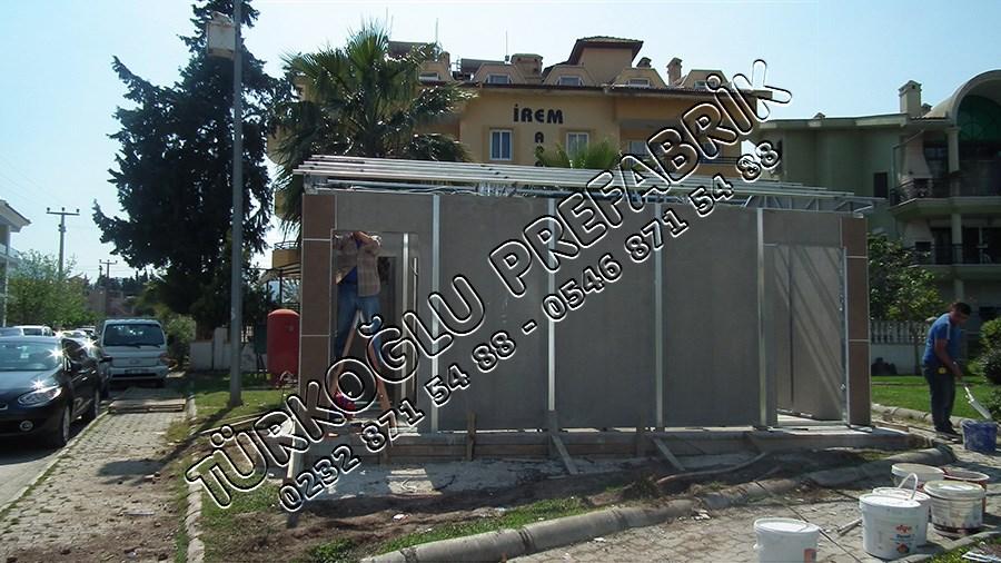 Marmaris Belediyesi Prefabrik Muhtarlık