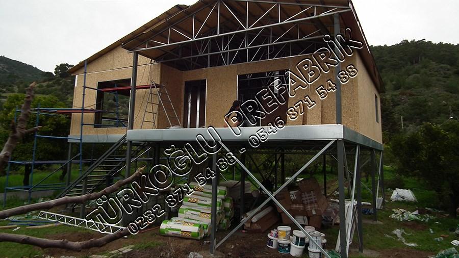 Mustafa ÖZ Prefabrik ev