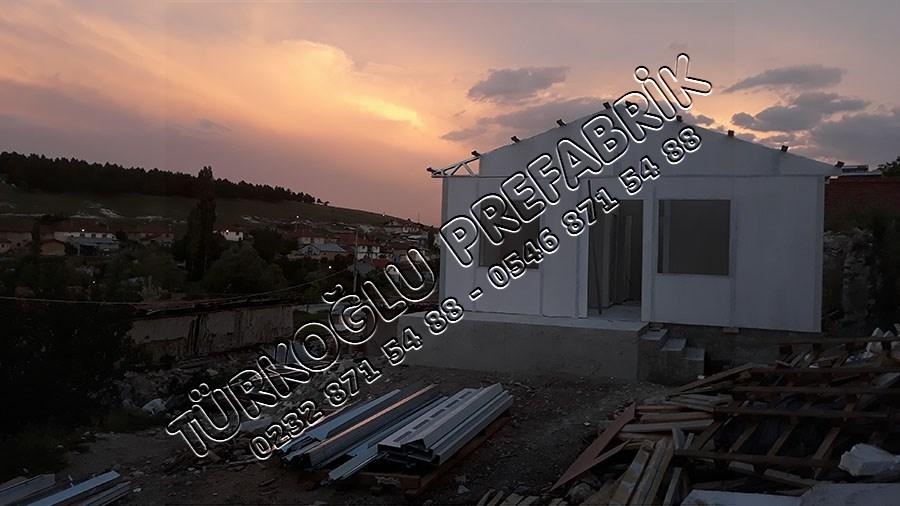 Prefabrik ev Afyon