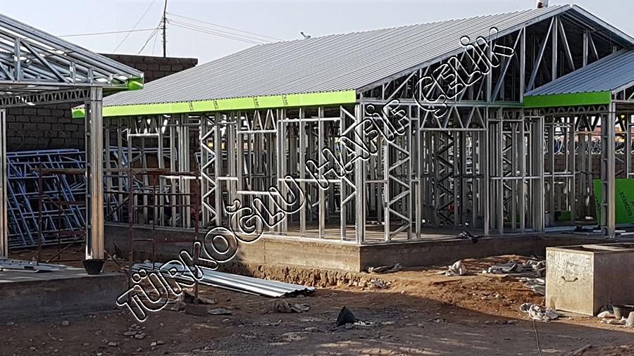 Somali Hargeisa Kenti Hafif Çelik Bina