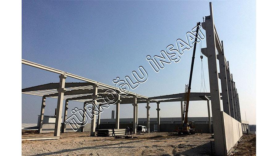 Turgutlu OSB FGS Oto ve Üstek Makina Fabrikaları İnşaatı