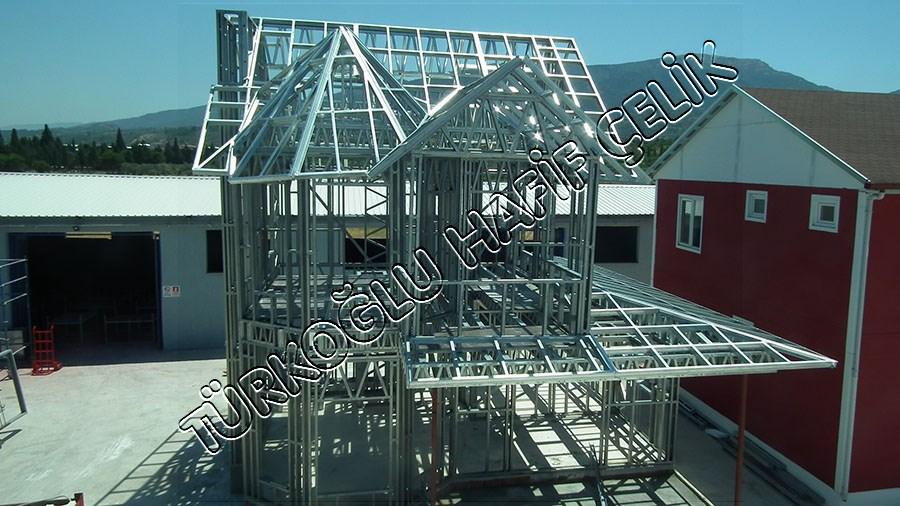 Türkoğlu Hafif Çelik Örnek Çelik Bina