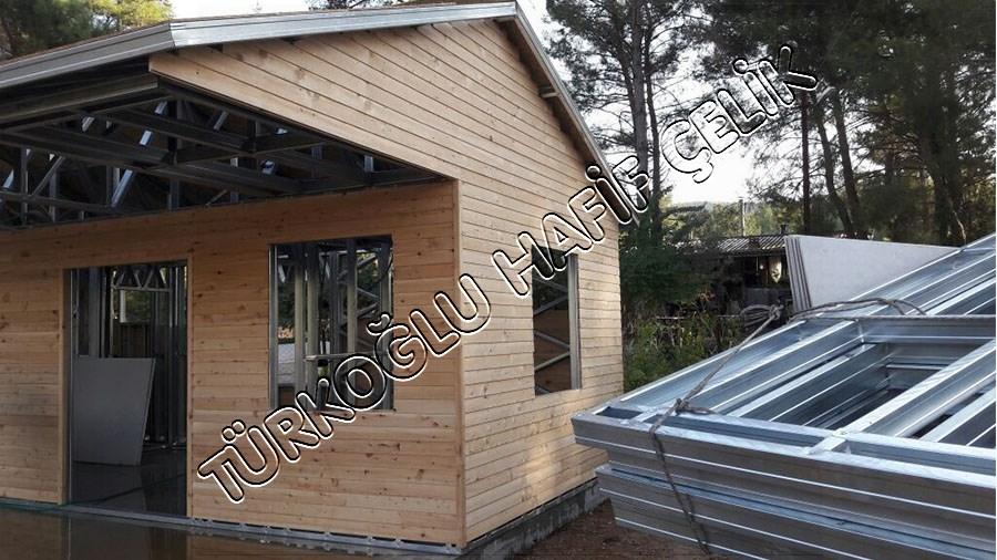 Uğur Prefabrik - Hafif Çelik Ev Kurulumu