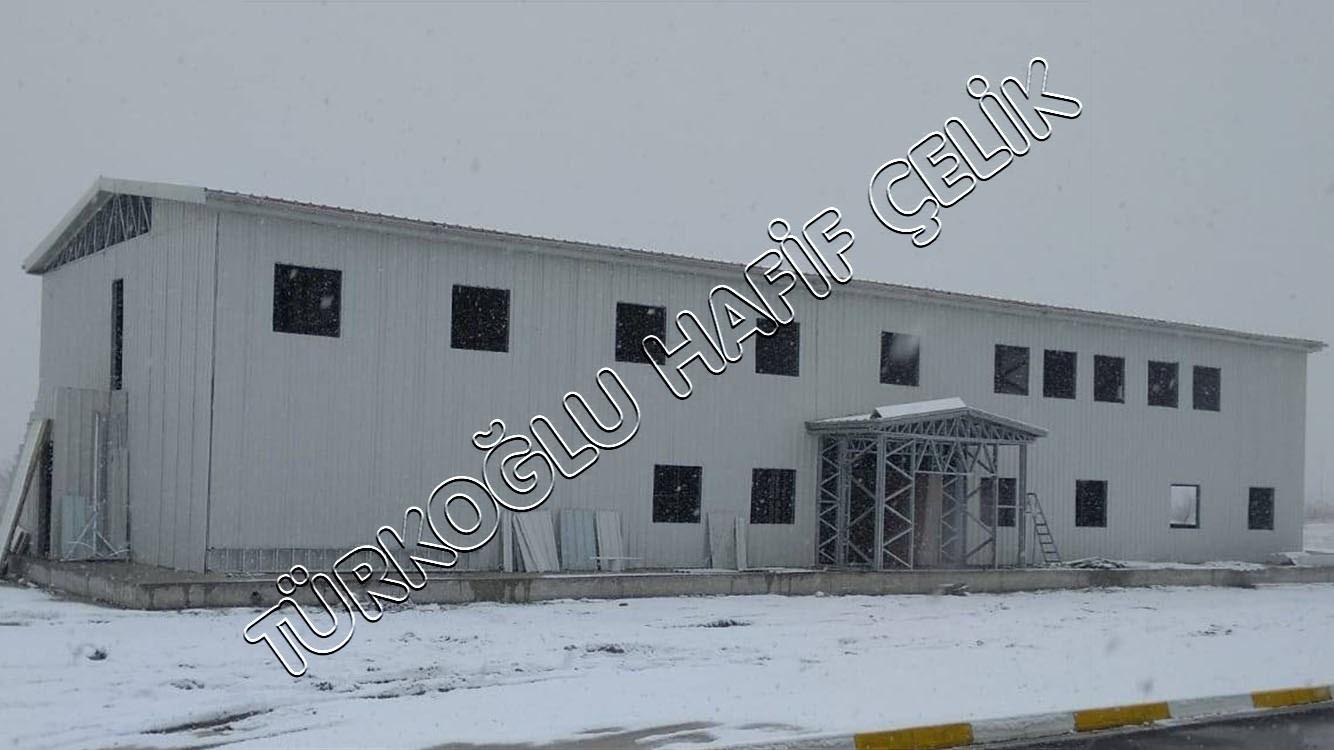 Van Jandarma Filo Komutanlığı Hafif Çelik Ofis
