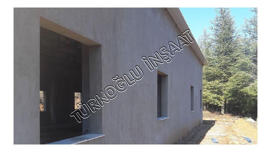 Yeni Köy Fidanlığı Depo Binası inşaat