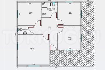 Prefabrik Özel Proje Planları