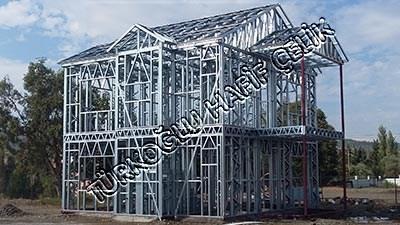 Örnek Hafif Çelik Ev Konstrüksiyon