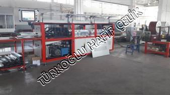 Hafif Çelik Üretim Makinasi, Prefabrik Ev Üretimi