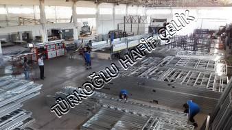 Hafif Çelik Duvar Tira Yüklenmesi 2